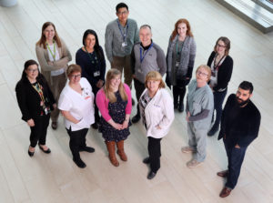 Members of the Cancer Care Team at Dr. H. Bliss Murphy Cancer Centre in St. John's. (Photo by Paul Daly)
